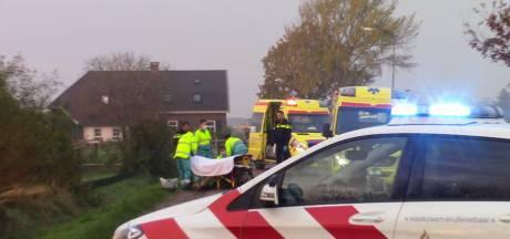 Bestuurder scooter gaat onderuit en raakt gewond in Wadenoijen
