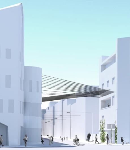 Lichtgevend (z)weefgetouw: nieuwe stadsentree Stationsstraat hangt er voor eind dit jaar