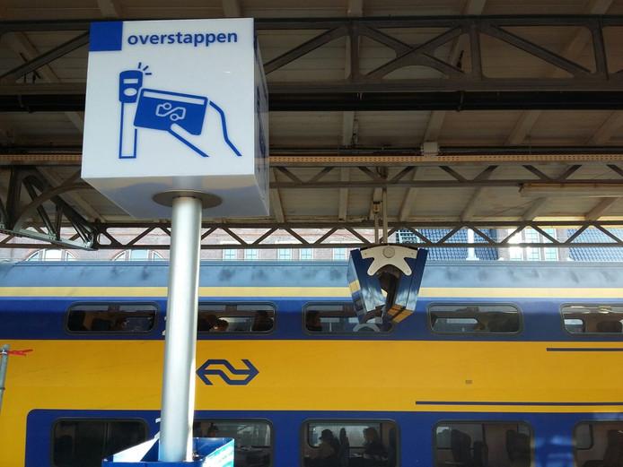 Overstappen in Roosendaal.