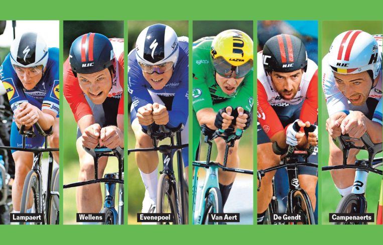 Wie wordt Belgisch kampioen tijdrijden?