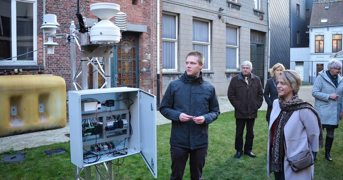 Minister leert over het weer in Sint-Bavo | Gent | Regio | HLN