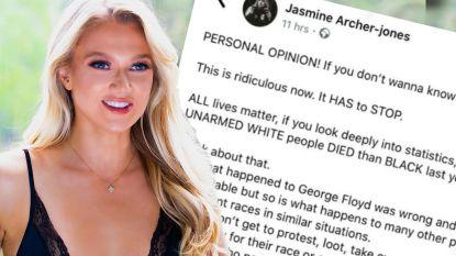 Britse Miss moet kroontje afgeven na 'ontoelaatbare' uitlatingen over Black Lives Matter