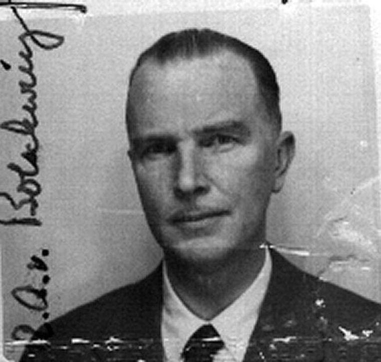 Otto von Bolschwing, rechterhand van Adolf Eichmann. Beeld .