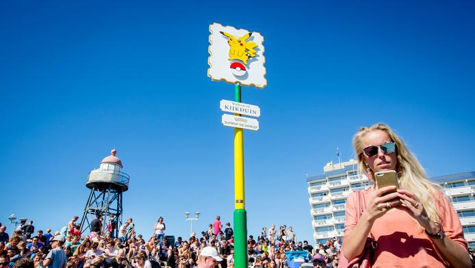 Kijkduin werd in de zomer uitgeroepen tot Pokémon-hoofdstad van Nederland