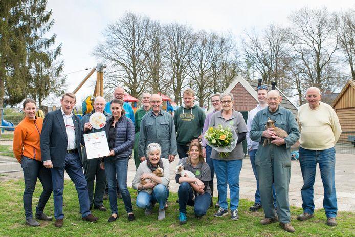 Kinderboerderij Dondertman Holten in de categorie sportief en actief.