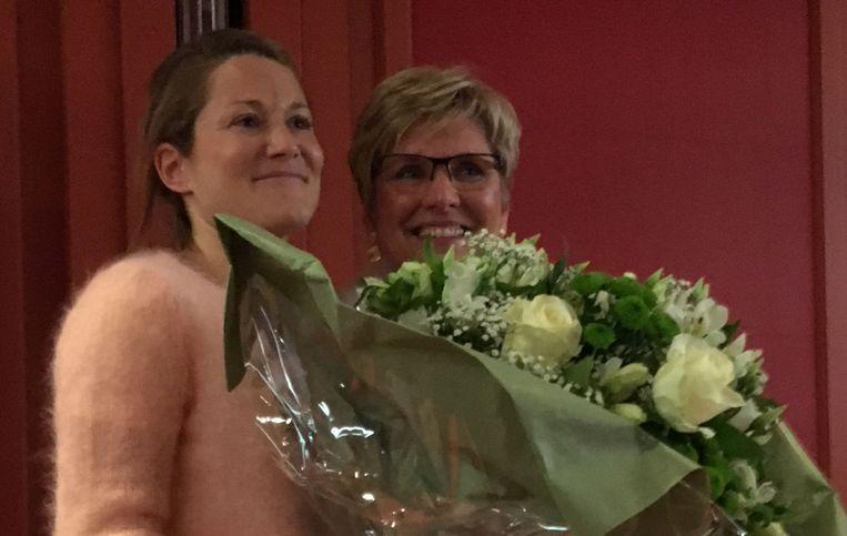 Anneleen Van Bossuyt en Elke Sleurs.