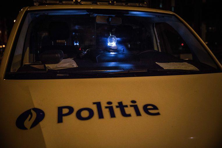 Gent, vuurwerk, nieuwjaar politie, lichtbal