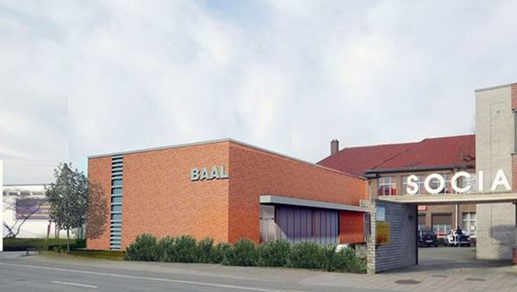 De vernieuwde sportzaal in Baal (Tremelo). Foto RV