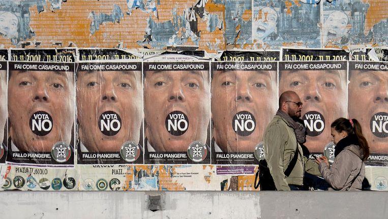 Italië geeft haar mening door middel van een referendum. Wat zijn de implicaties van een 'no'? Beeld afp