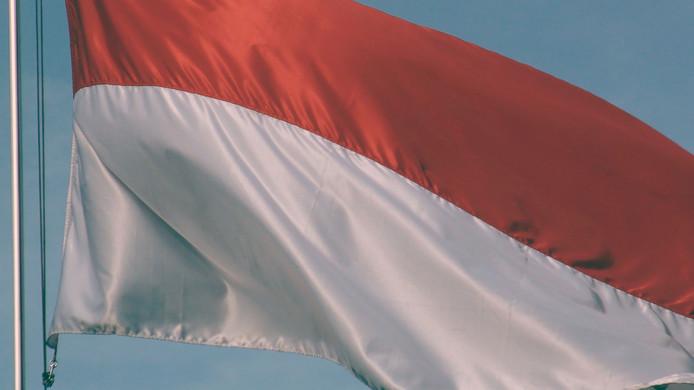 Vlag Indonesië
