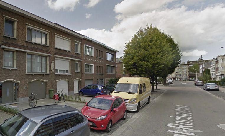 Het ongeval gebeurde in de Sint Rochusstraat ter hoogte van huisnummer 188.