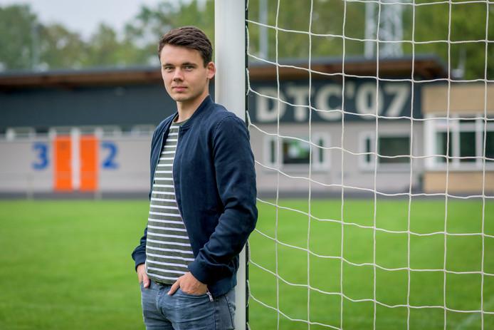 DTC-speler Jelco Nijhuis hoopt op promotie.