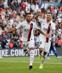 Neymar maakte afgelopen zaterdag met een omhaal de winnende goal voor PSG, maar moet in de Champions League nog twee duels geschorst toekijken.