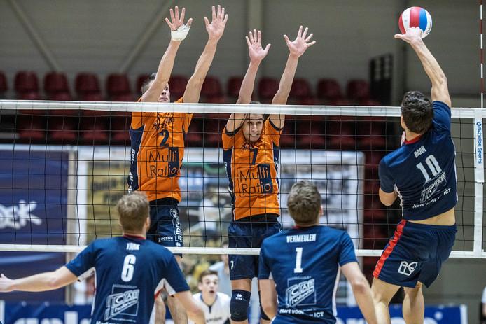 Orion won zondagmiddag in de eredivisie met 1-3 van Talentteam. Foto Jan van den Brink