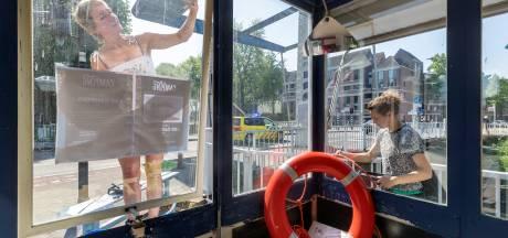 Geen Zuid-Willemspark, maar gelukkig wel de Brugwachtershuisjes
