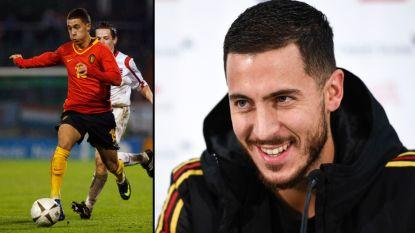"""Eden Hazard tien jaar Rode Duivel: """"Ben sinds debuut misschien béétje beter geworden"""""""