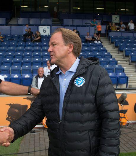 Cambuur-trainer De Jong: 'De Graafschap staat terecht bovenaan, ze stelen geen punten'