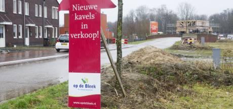 Wijk Op de Bleek in Eibergen wordt gewijzigd afgebouwd