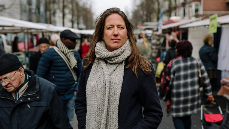 Marjolein Moorman: 'Op de plekken waar lesgeven het moeilijkst is, mag je beter worden betaald.' Beeld Marc Driessen