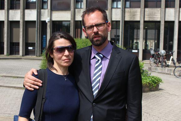 Ouders Stijn Desomer en Marta G.
