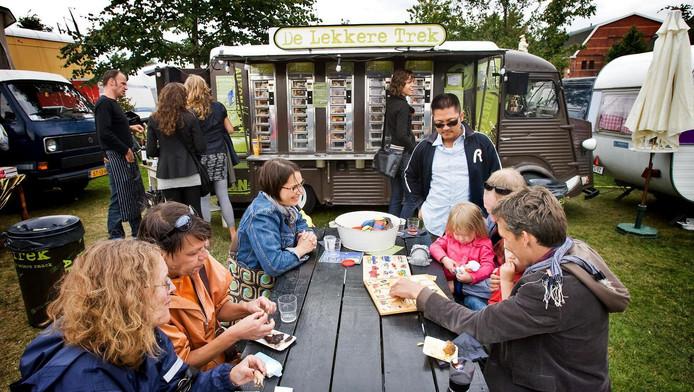 Foodtruckfestivals zijn populair