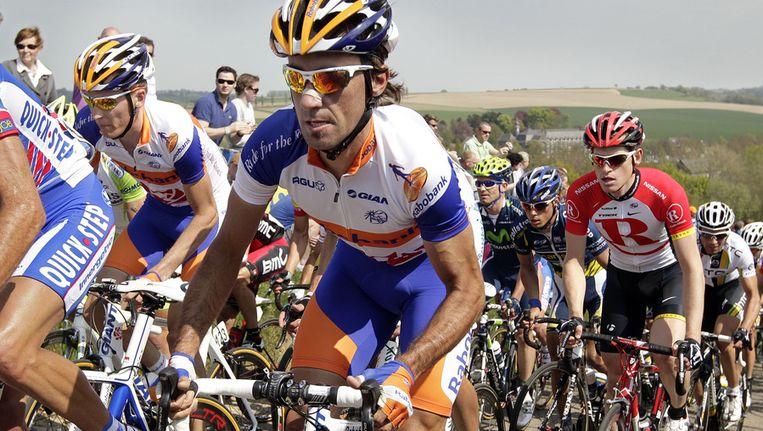 Barredo tijdens de Amstel Gold Race van 2011. Beeld ANP