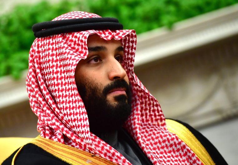 Kroonprins Mohammed bin Salman van Saoedi-Arabië.