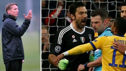 """Sonck: """"Was ik Buffon geweest, dan had ik de ref echt een mep verkocht"""""""