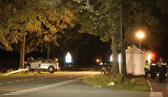 Twee doden bij ernstig ongeluk in Sint-Oedenrode