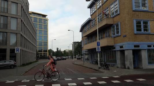 De Gagelstraat in Eindhoven gezien vanaf de Mathildelaan.