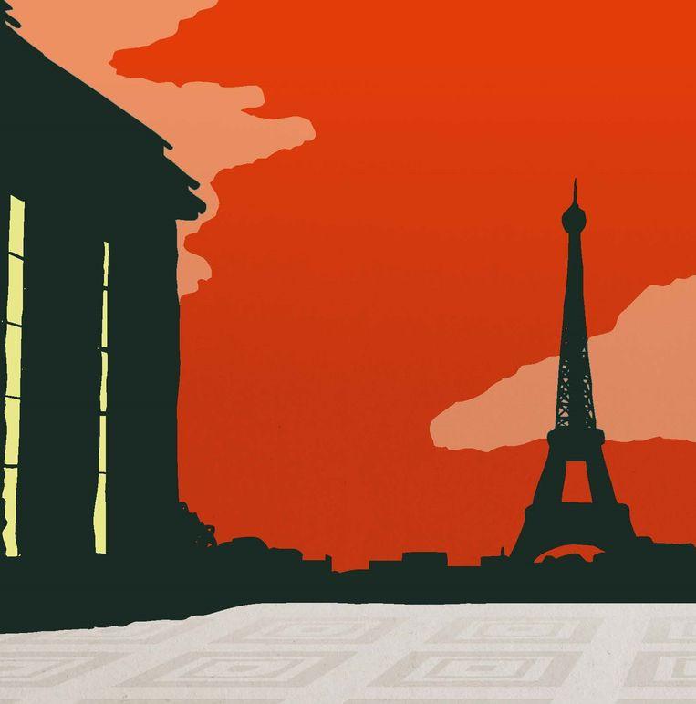 Omslagillustratie van Trocadéro Beeld