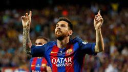 Een kaarsje voor elke trofee met Barcelona