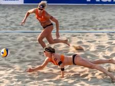 Wisselend succes beachkoppels op OKT