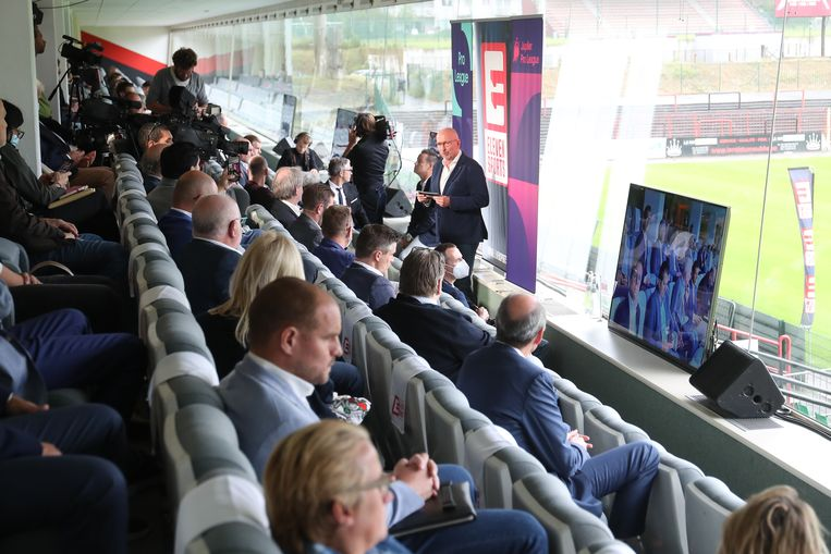 Het Belgisch voetbal is de komende vijf jaar op Eleven Sports te zien.