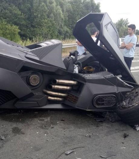 Une Batmobile impliquée dans un accident en France
