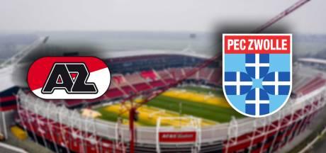 AZ snakt tegen PEC Zwolle naar een overwinning