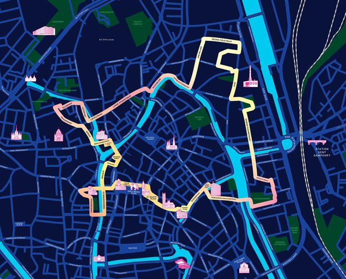 Dit is de route van het Lichtfestival 2021.