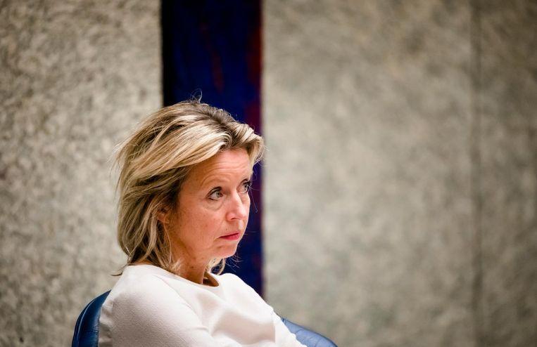 Minister Kajsa Ollongren van Binnenlandse Zaken (D66). Beeld ANP