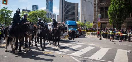 Schietpartij bij huldiging Toronto Raptors
