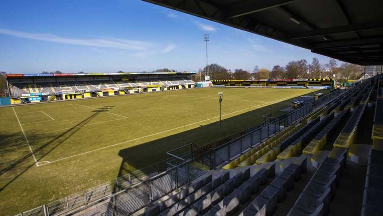 Stadion De Langeleegte van SC Veendam. Beeld anp