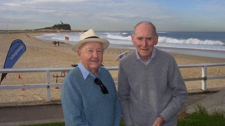 John Challis en Arthur Cheeseman.