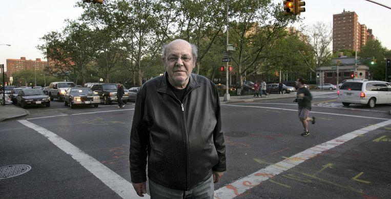 Misha Mengelberg in New York, in 2005. Beeld Guus Dubbelman / de Volkskrant