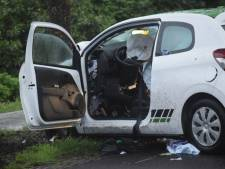 Automobilist botst op boom in Willemsoord