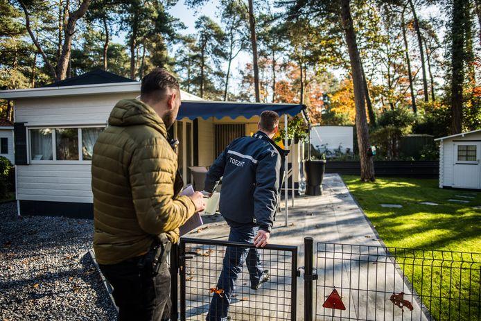 Dinsdag was er een inval op Vakantiepark Arnhem door politie, gemeenten, de provincie en het openbaar ministerie.