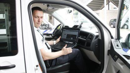 Politie werkt sneller tijdens interventies dankzij nieuwe laptops