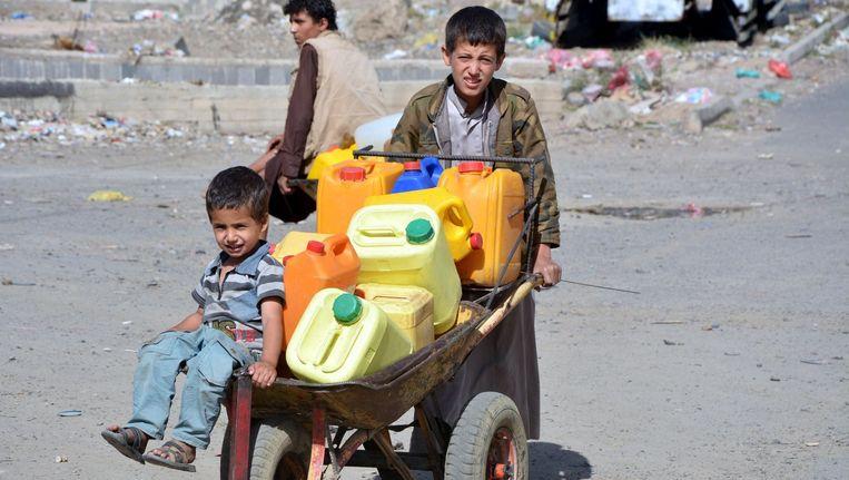 Er is niet alleen te weinig voedsel, ook waterschaarste is een groot probleem.
