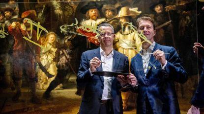 'Operatie Nachtwacht' van start in Rijksmuseum