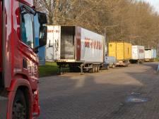 Vrachtwagenchauffeurs kunnen voortaan met gerust hart legaal tukken in Genemuiden