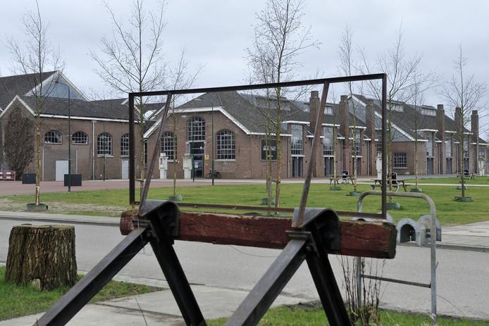 Het centrale deel van de Wagenwerkplaats in Amersfoort.