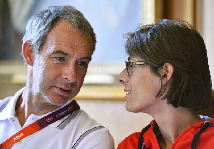 Wim Vandeven, coach en partner van Tia